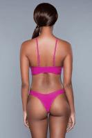 Bikini mit Cut-Out pink