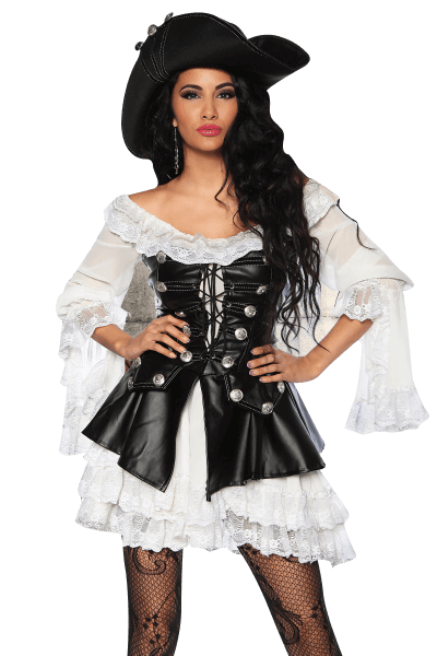 Sexy Piratinnen Kostüm