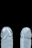 Doppeldildo blau - 30cm