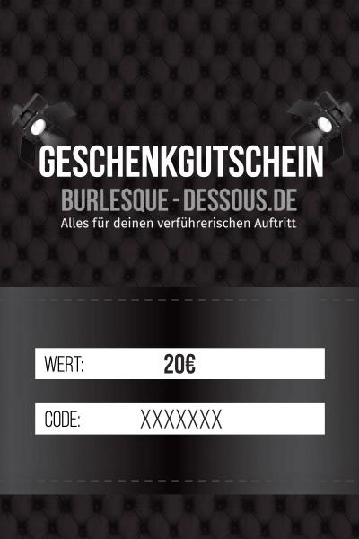 20 € Gutschein per Post