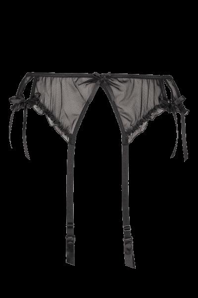 Strapsgürtel schwarz Plus Size