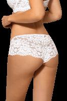 Weiße Spitzen-Panty