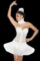 Tutu-Petticoat in weiß