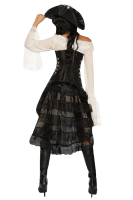 Steampunk Korsett schwarz
