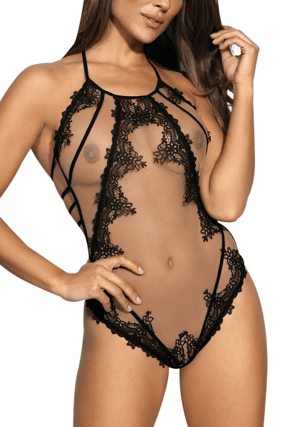Beige/schwarzer Body