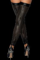 Lasercut Wetlook Stockings