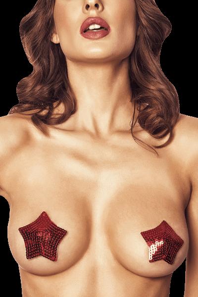 Nipple Pasties Pailletten Stern