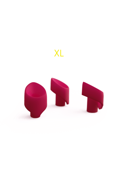 Ersatzkappen - Womanizer® 2GO - 3er