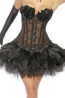 Tutu-Petticoat in schwarz