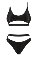 Sportlicher Bikini schwarz