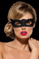 Schwarze Augenmaske - Spitze
