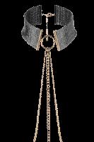Bijou Indiscrets - Körperschmuck mit Halsband aus Metallblättchen