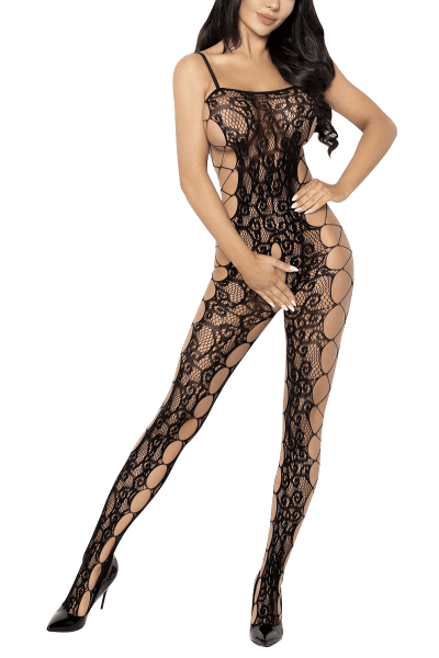 Bodystocking ouvert mit Cut-Outs