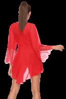 Rotes Nachtkleid