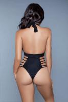 Badeanzug schwarz mit Cut-Outs