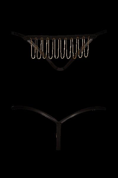 Wetlook String mit Ketten