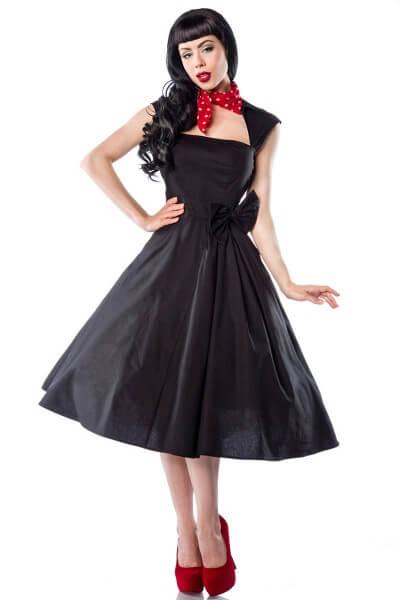 Rockabilly Kleid schwarz M