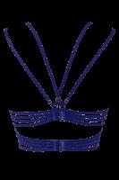 BH mit Bändern blau