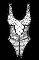Schwarzer ouvert Netzbody