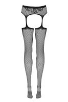 Strapsstrumpfhose aus Netz