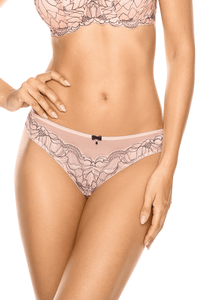 String rosa mit Muster
