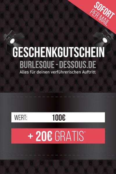 100 € Gutschein per Mail