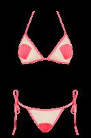 Bikini mit Muscheldesign