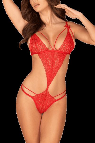 Body rot mit Bändern