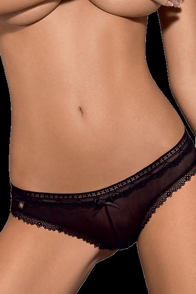 Schwarzer Slip