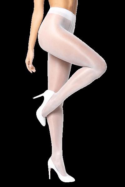 Strumpfhose weiß ouvert