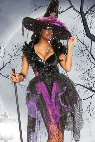Hexen Kostüm Deluxe