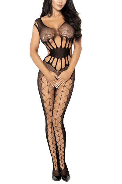 Cut-Outs Bodystocking ouvert