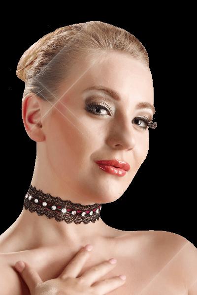 Halsband mit Strass - Cottelli Collection
