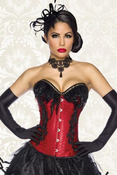 Sexy Burlesque Corsage