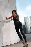 Fitness Leggings schwarz