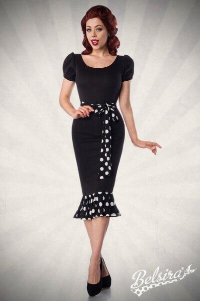 Vintage Jerseykleid
