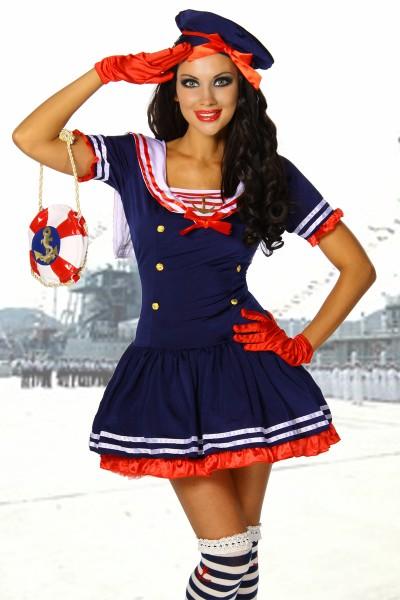 Sexy Marine Kostüm