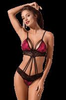Sexy Body in pink/schwarz