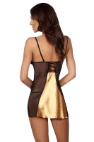 Luxus Negligee in Gold