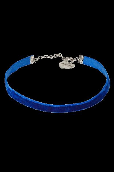 MixMatch Adventskalender - Kropfband aus Samt blau