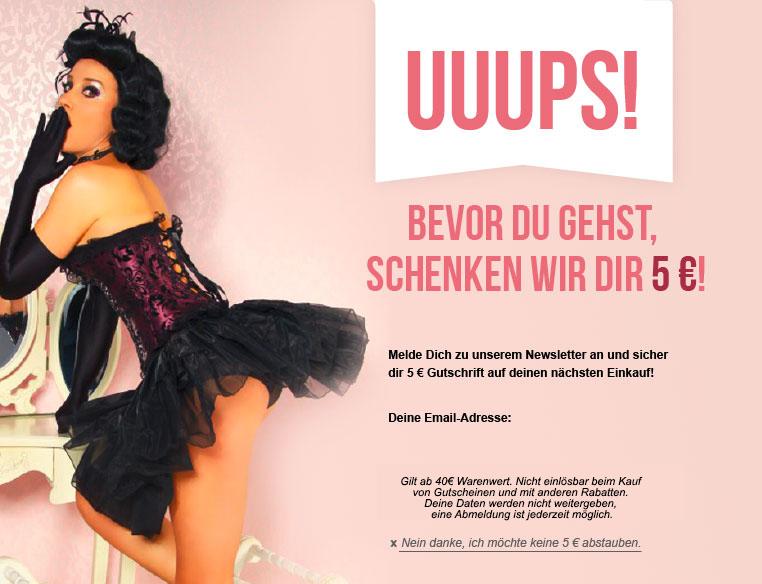 Burlesque Dessous 5% Gutschein