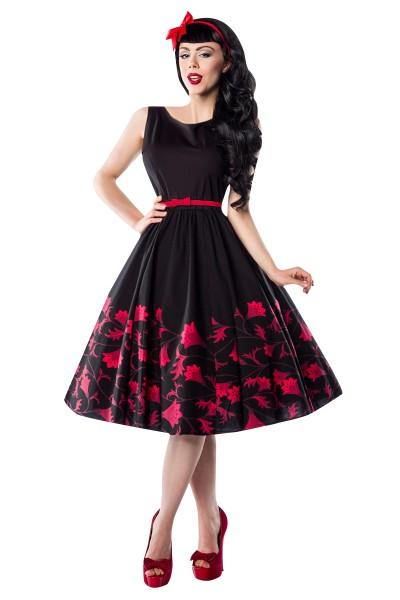 Rockabilly Kleid mit Blumenmuster