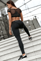 Fitness Leggings in schwarz