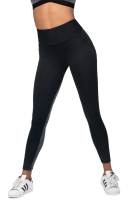 Fitness Leggings schwarz/grau
