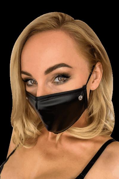 Mund- und Nasen-Maske mit Glitzerstein