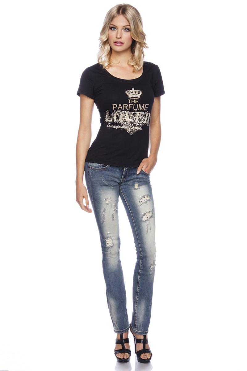 jeans mit strass leggings hosen bekleidung. Black Bedroom Furniture Sets. Home Design Ideas