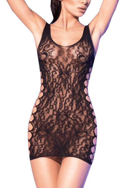 Netz Kleid