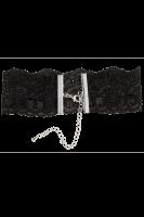 Spitzenhalsband mit Kettenverschluss