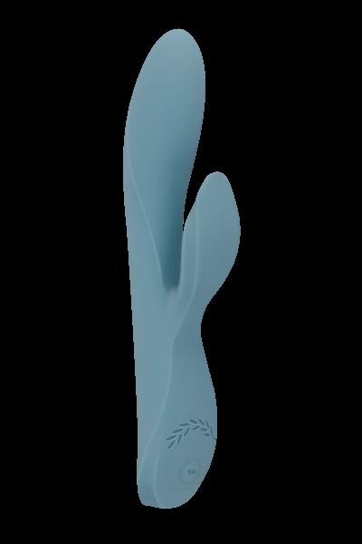 Rabbit Vibrator mit Augenbinde - 20cm