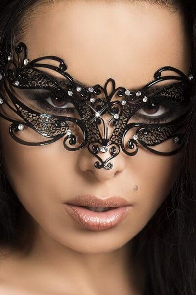 Maske Venezia - Messing